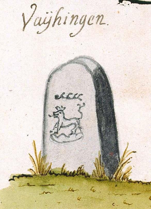 Vaihingen/Enz LB (Stromberger Forst, Marksteinzeichen I), Bild 1