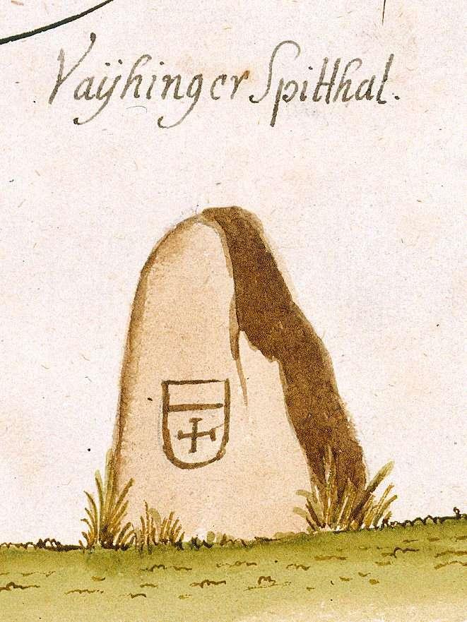Vaihingen/Enz LB (Stromberger Forst, Marksteinzeichen I), Bild 2