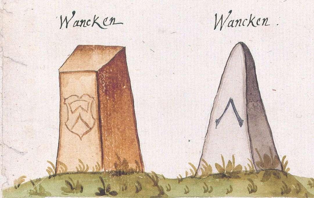 Wankheim, Kusterdingen TÜ (Tübinger Forst, Marksteinzeichen IV), Bild 1