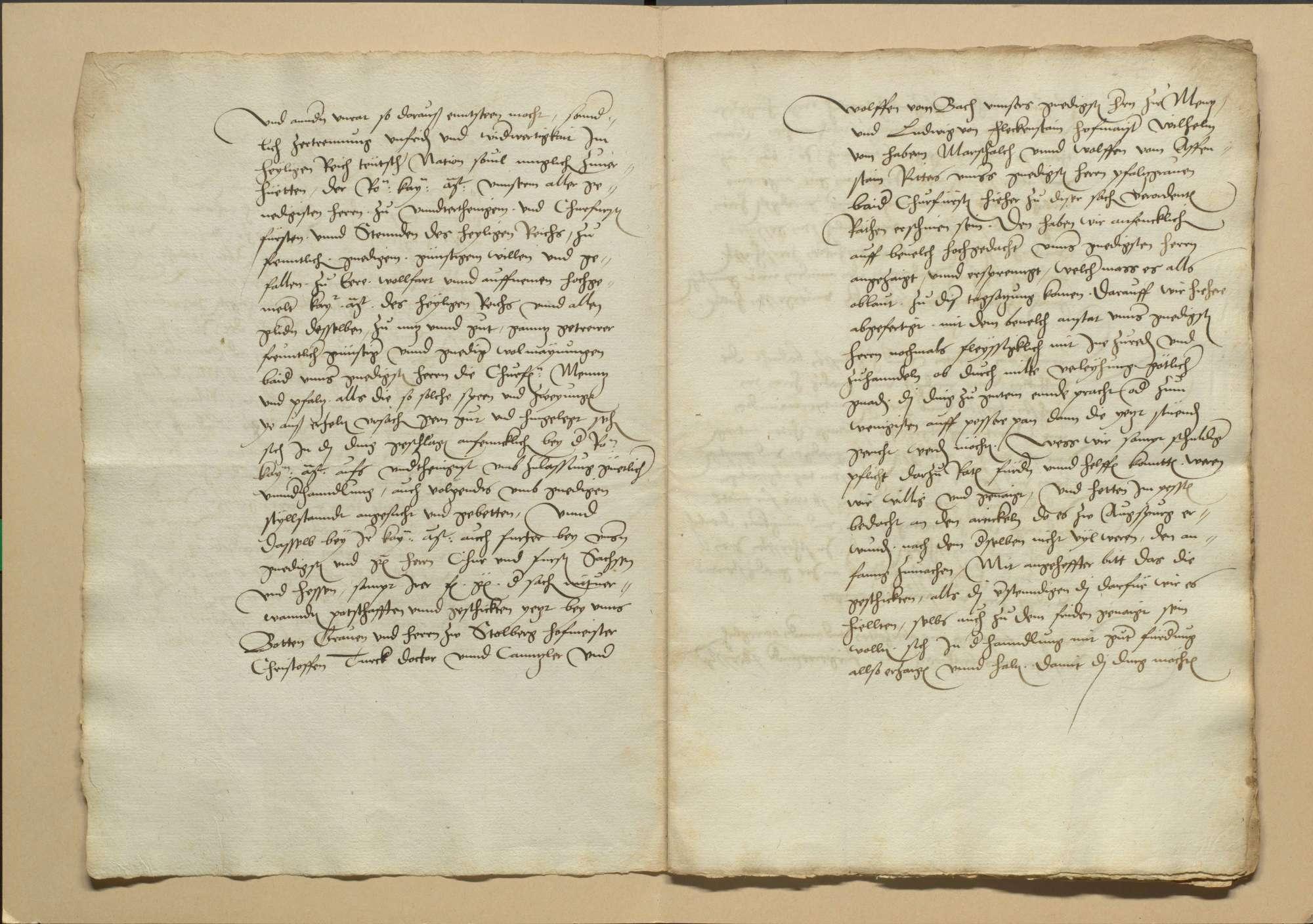 Unterhandlungen des Albrecht, Erzbischof zu Mainz, und des Kurfürsten Ludwig von der Pfalz mit den protestantischen Ständen zu Schmalkalden am Freitag St. Ägidien-Tag 1531, Bild 3