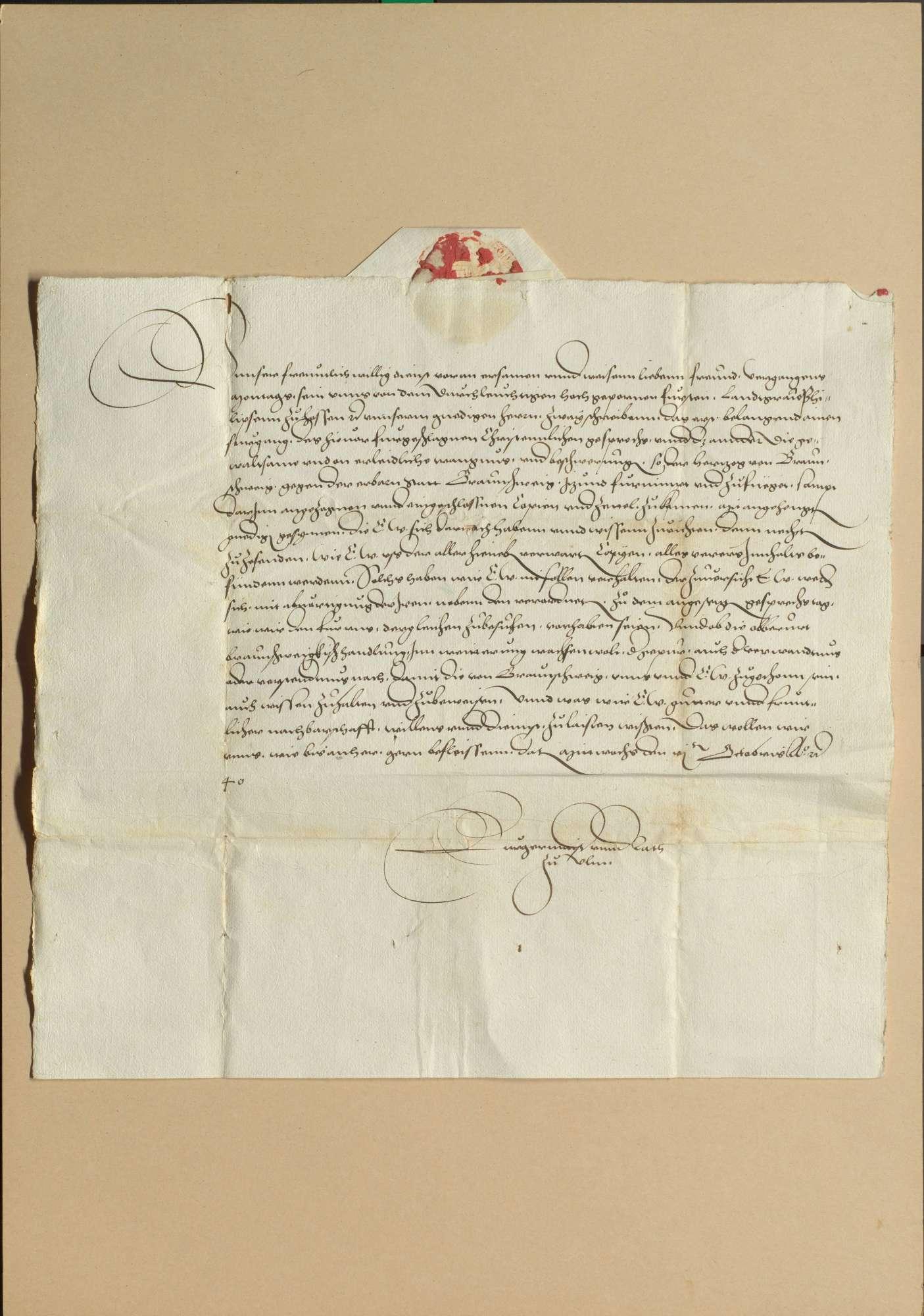 Gespräch zu Worms am 28. Oktober 1540 zwischen den katholischen und den protestierenden Ständen, Bild 2