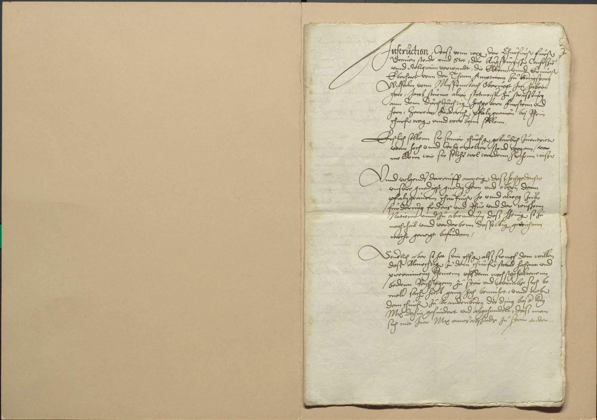 Versammlung der einigungsverwandten Stände zu Frankfurt am 6. Dezember 1545, deren Verhandlungen und die daselbst gemachten Abschiede, Bild 2