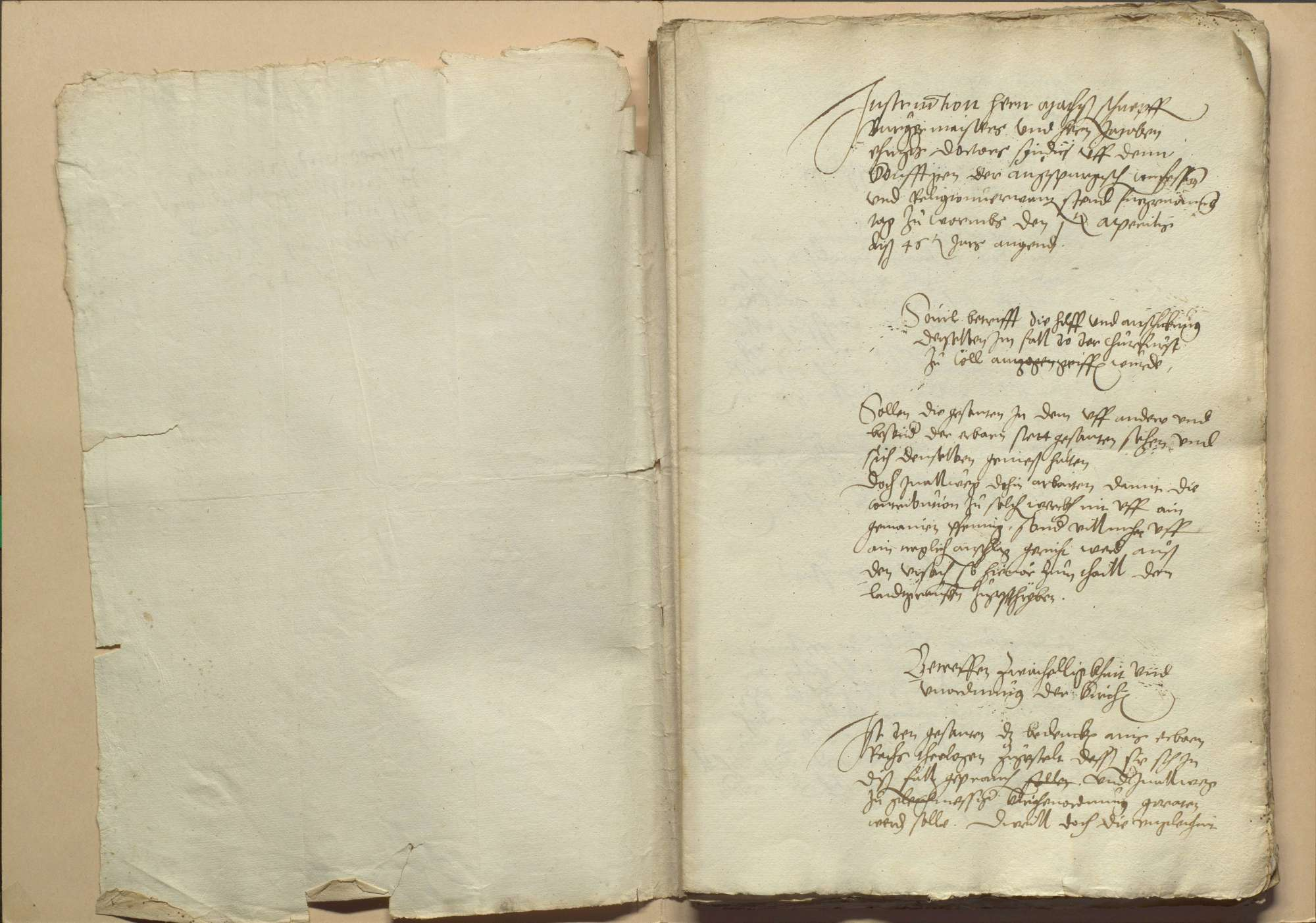 Handlungen und Abschiede der einigungsverwandten Stände auf dem Versammlungstag zu Worms am 1. April 1546, Bild 3