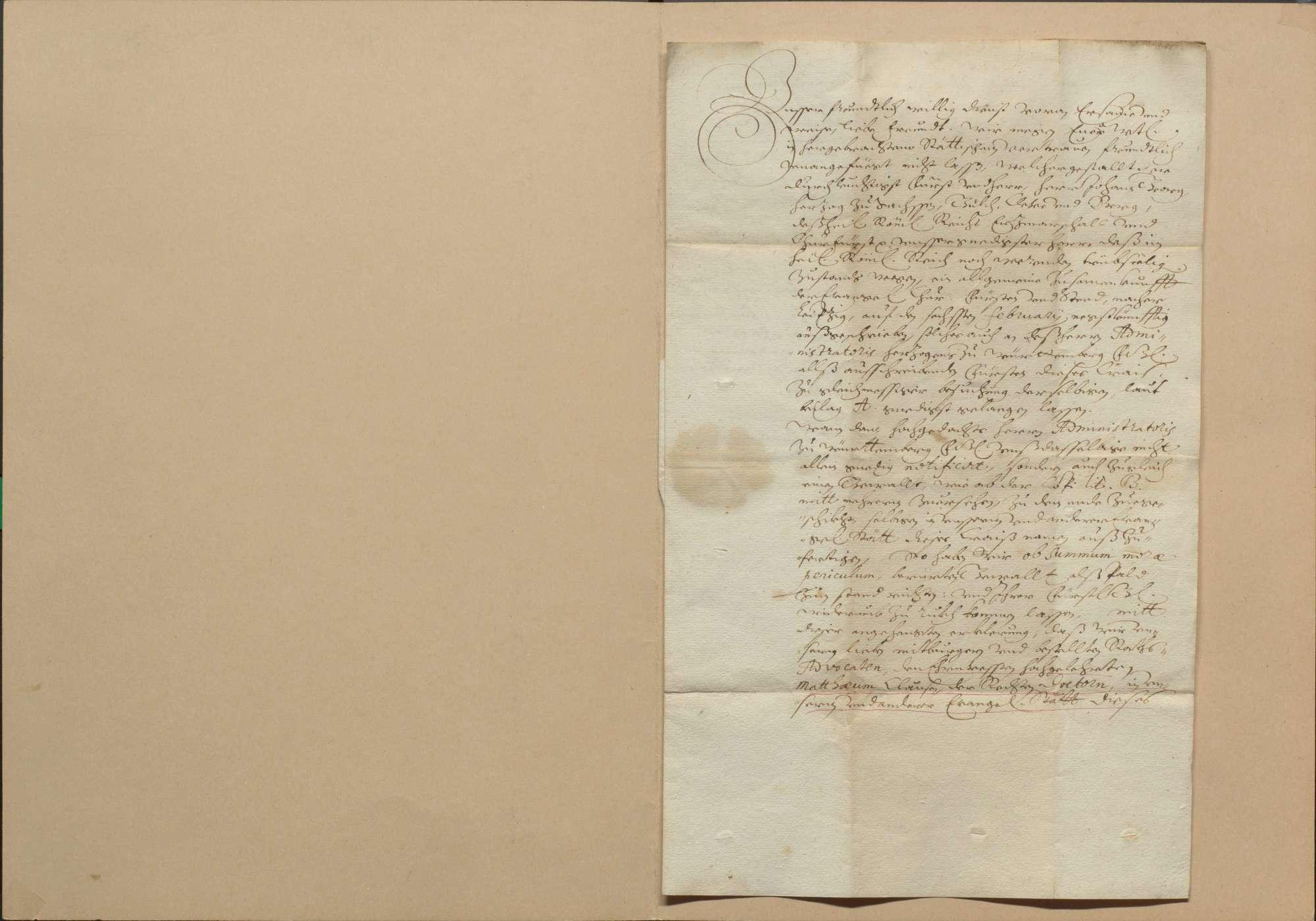 Zusammenkunft der protestantischen Stände vom 6. Februar 1631 zu Leipzig wegen des Restitutionsedikts und anderer Bedrückungen der protestantischen Stände, Verhandlungen daselbst und Abschied vom 2. April 1631, Bild 2
