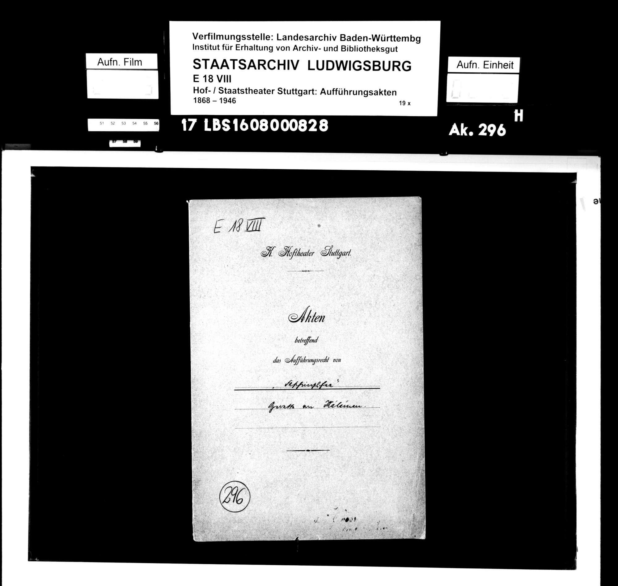 Faschingsfee. Operette von Imre Kalman, Bild 1