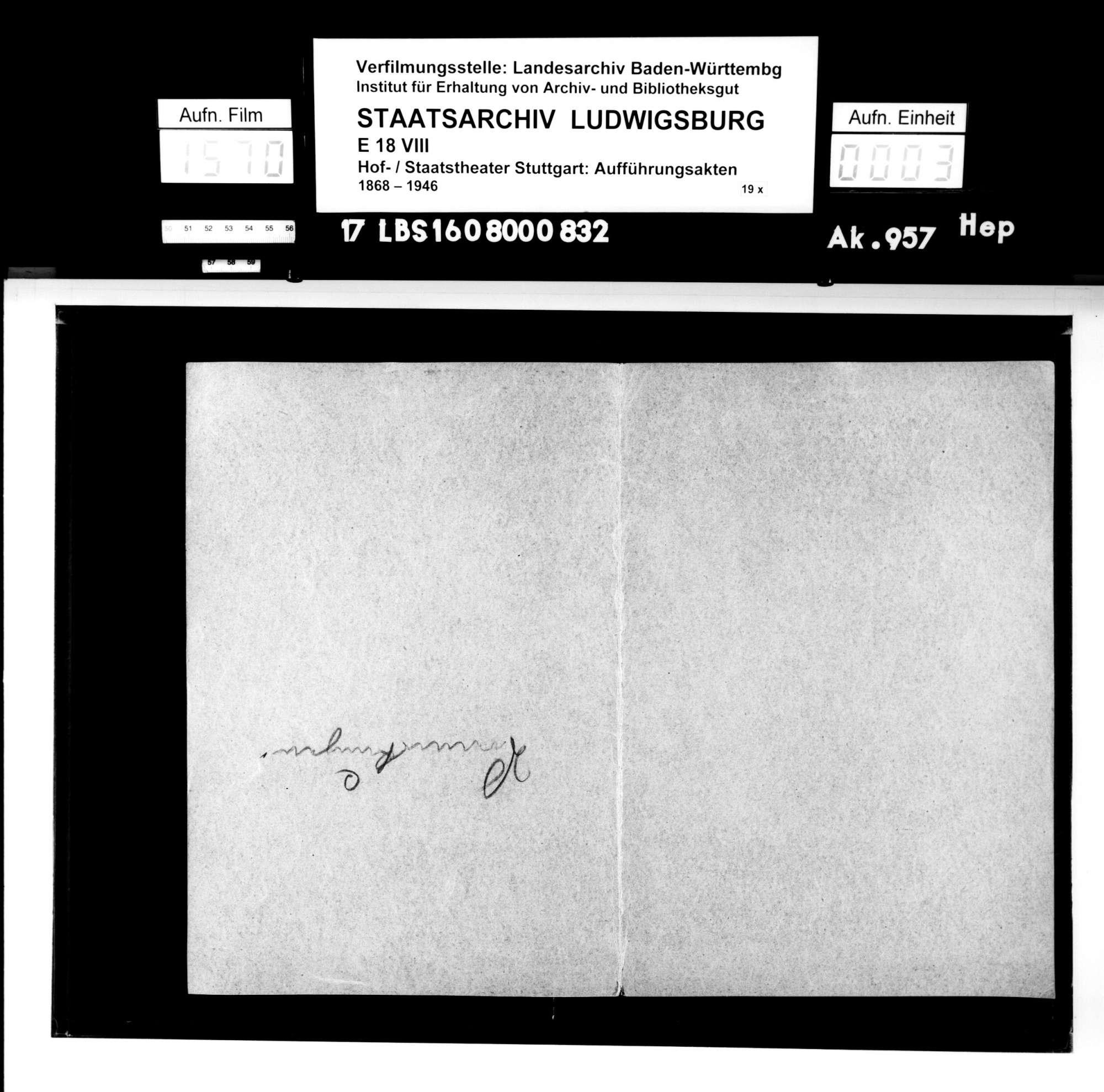 Orestie. Schauspiel von Karl Gustav Vollmöller; Musik: Einar Nilson, Bild 2