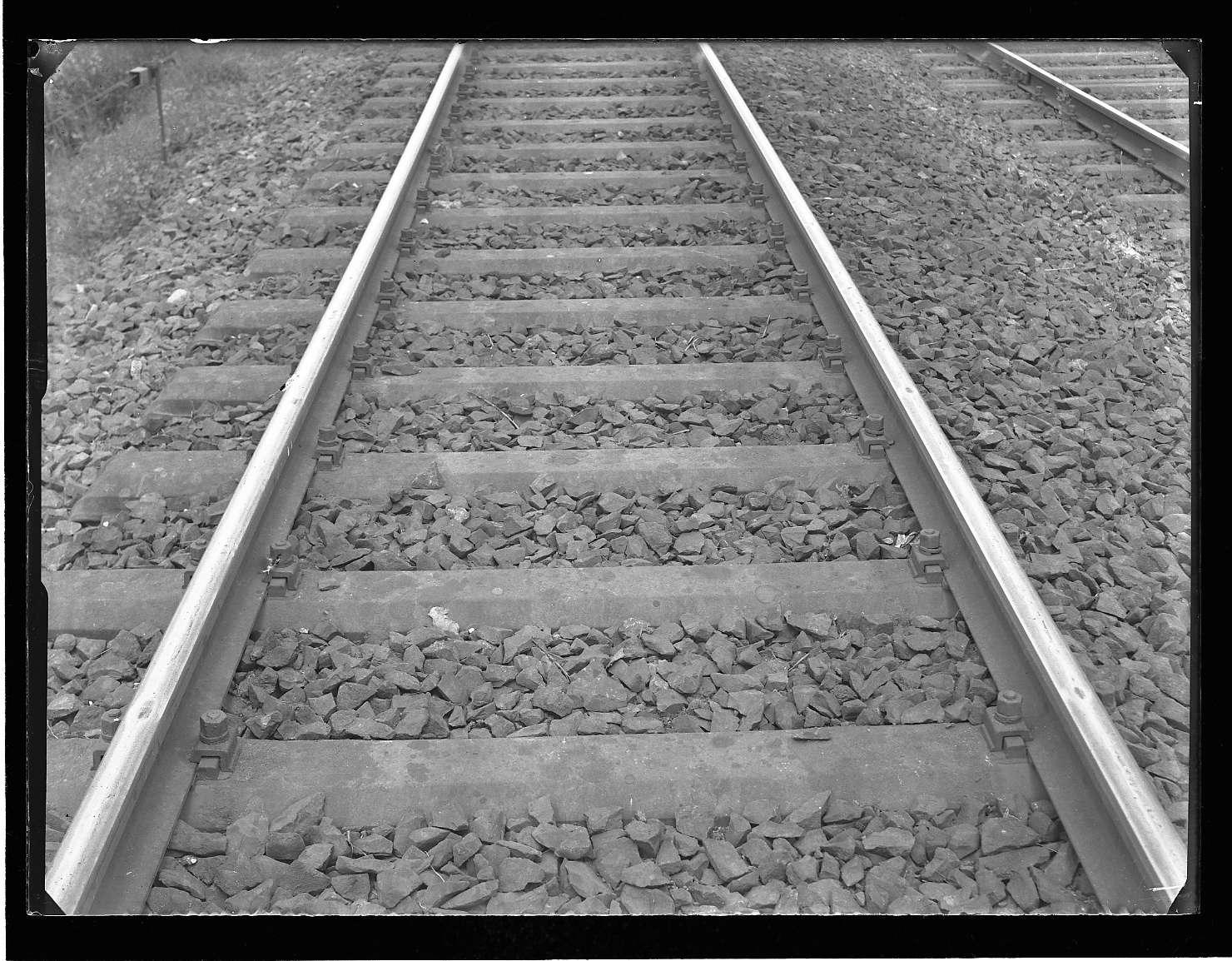Bietigheim (Württ.), Schleifstellen am Einfahrtsgleis von Heilbronn, Bild 1