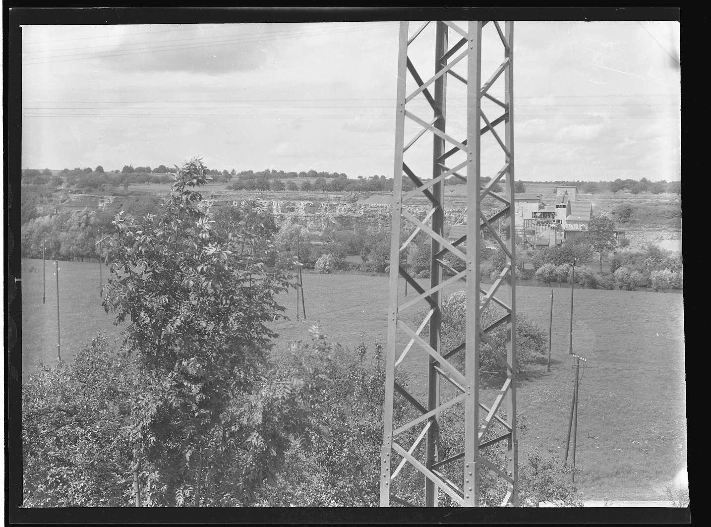 Bietigheim-Bissingen (Württ.), Bissingen, Bf, Ansichten bei der Rommel- Mühle (?), Abb. a