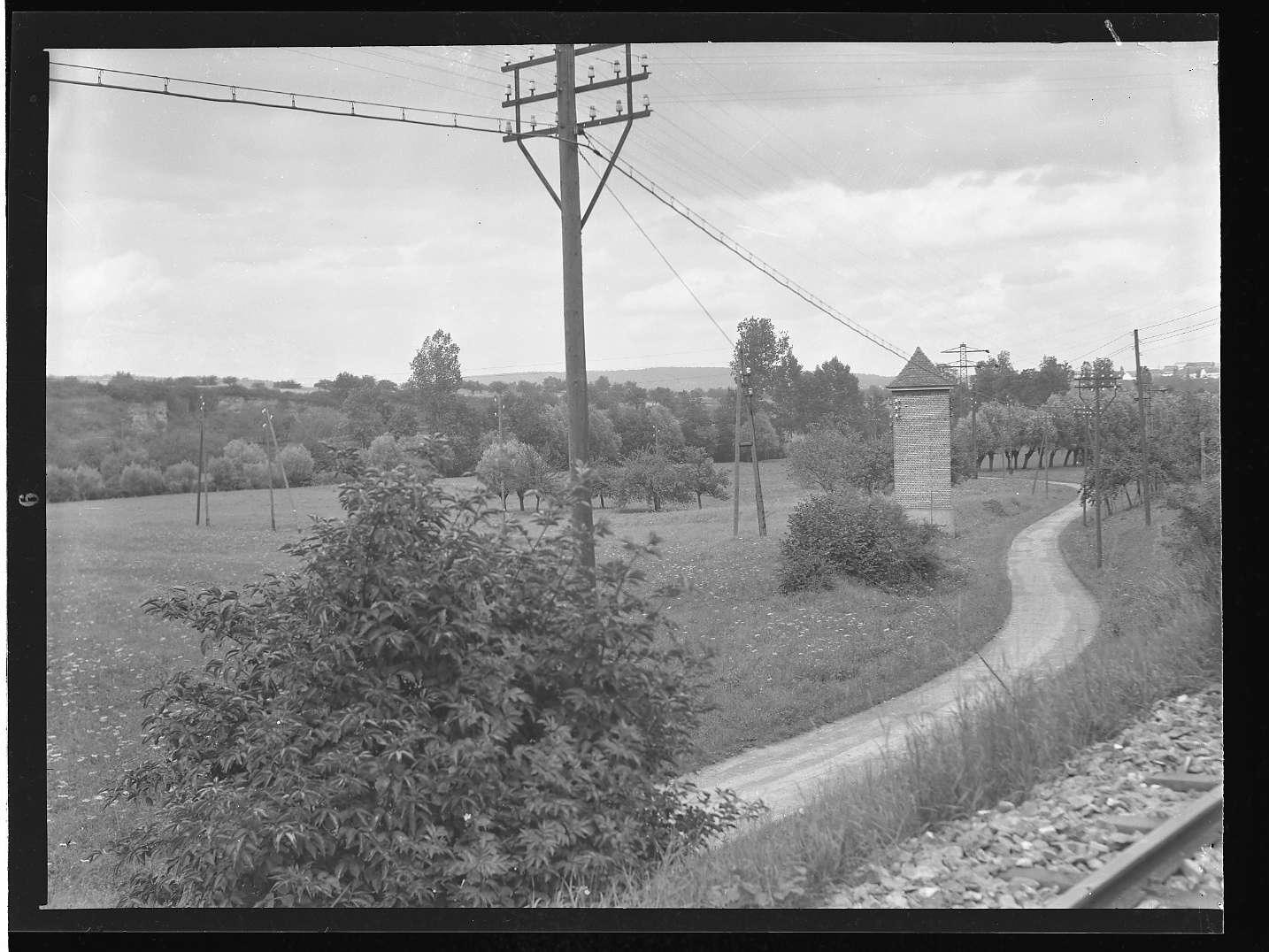 Bietigheim-Bissingen (Württ.), Bissingen, Bf, Ansichten bei der Rommel- Mühle (?), Abb. b