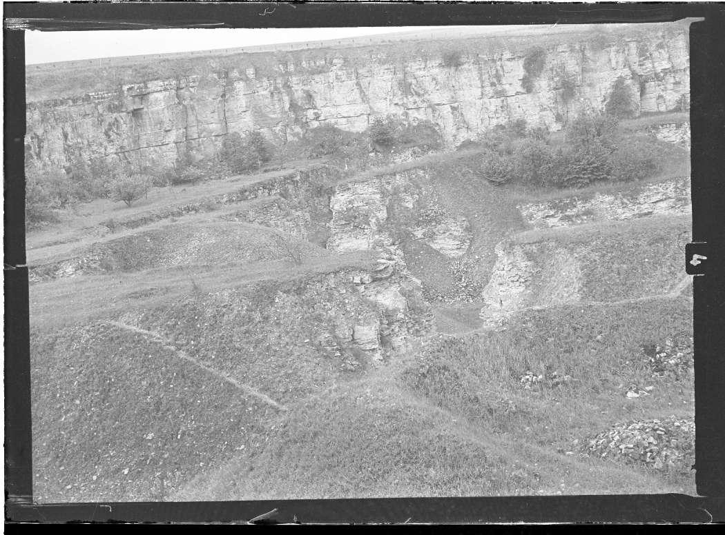 Erdmannhausen (bei Marbach), Steinbruchgelände, Abb. b