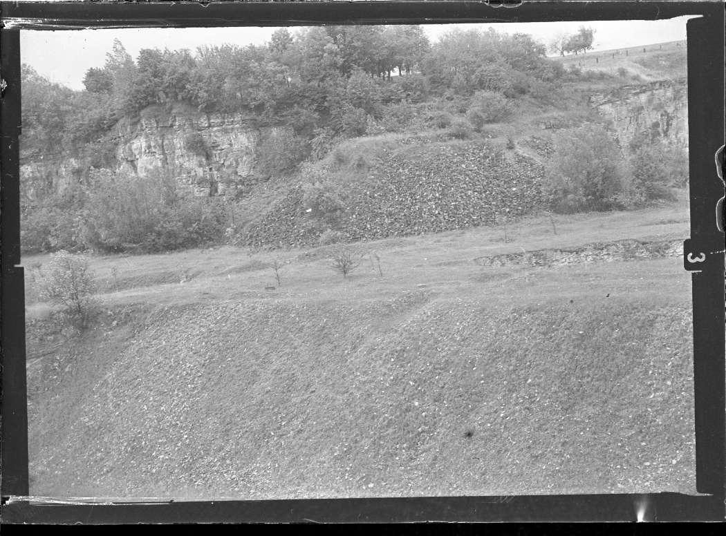 Erdmannhausen (bei Marbach), Steinbruchgelände, Abb. c