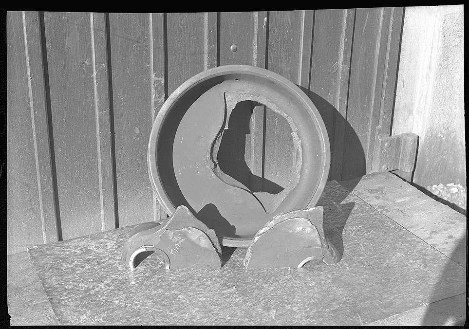Esslingen, Reichsbahnausbesserungswerk, Achsenbruch, Bild 1