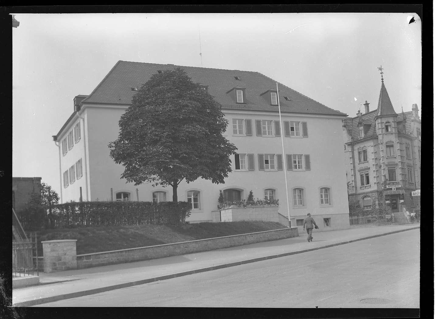 Friedrichshafen, Ledigenheim (alt), (Aussen- und Innenaufnahmen), Abb. a