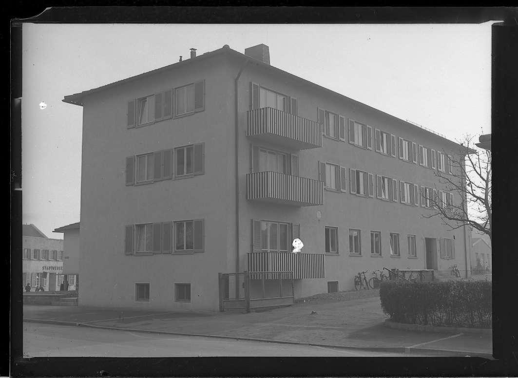 Friedrichshafen, Stadtbahnhof, Ledigenheim (neu), Abb. c