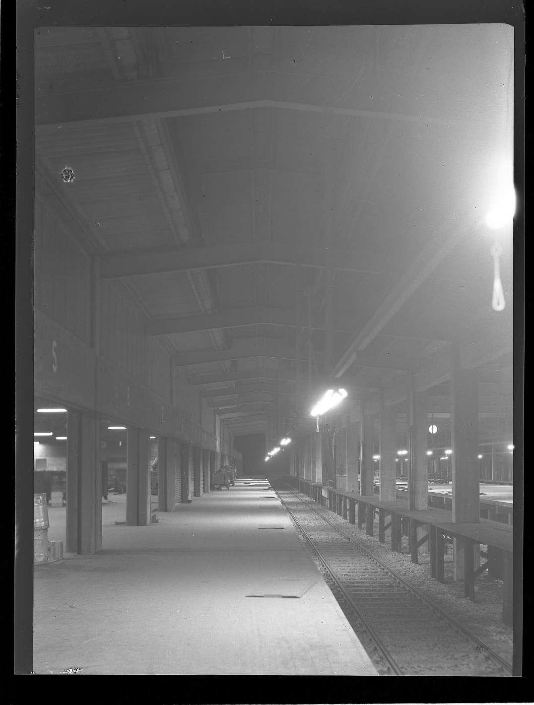Heilbronn, Hbf, neuer Güterschuppen, Bild 1