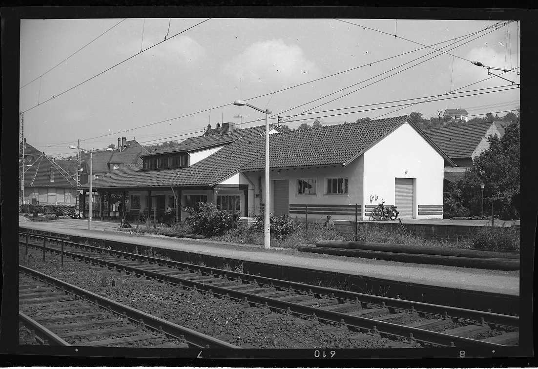 Ispringen, Bahnhof neu (Aussenaufnahmen), Abb. b
