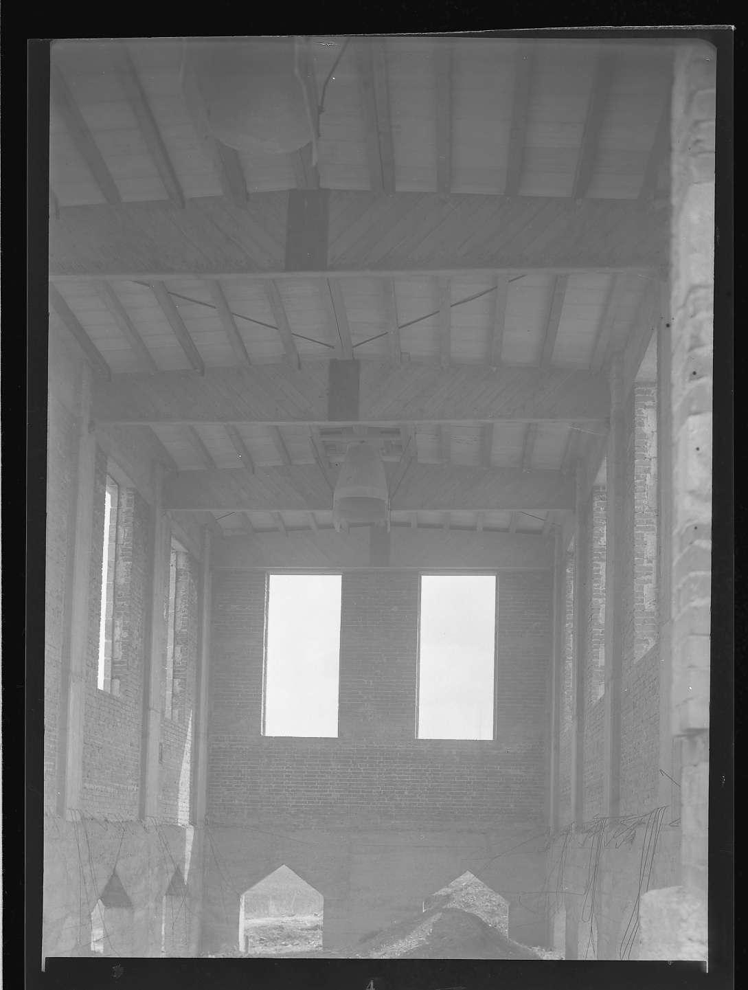Kirchheim unter Teck, Bf, Rohbau (Innenaufnahme), Bild 1