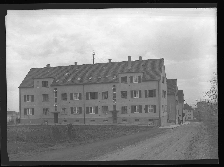 Kornwestheim, Wohnsiedlung für Bahnbedienstete, Abb. b
