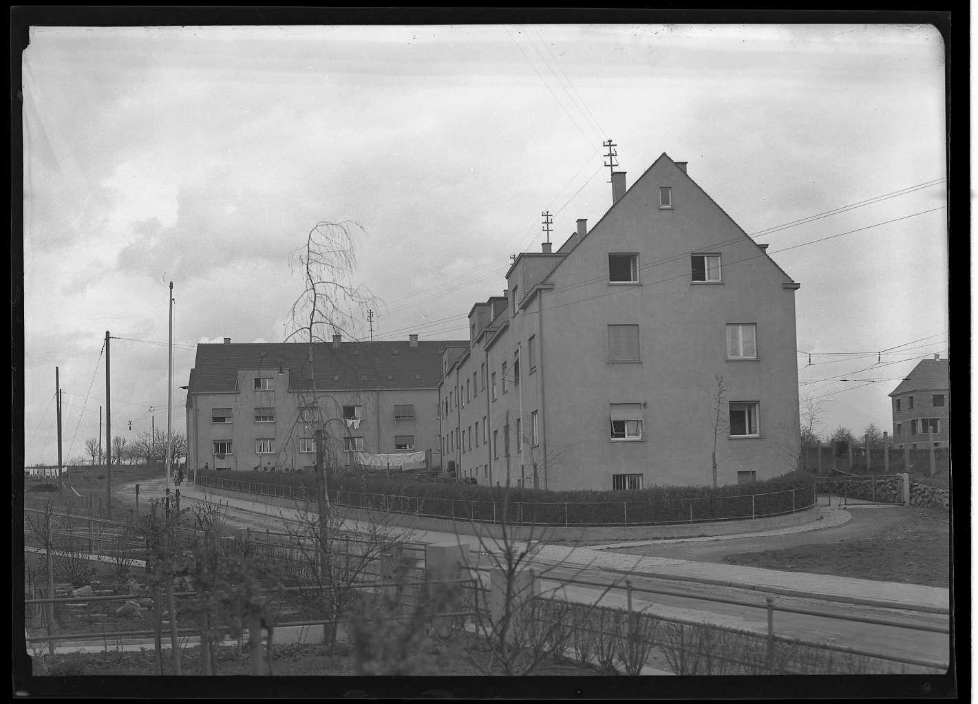 Kornwestheim, Wohnsiedlung für Bahnbedienstete, Abb. c