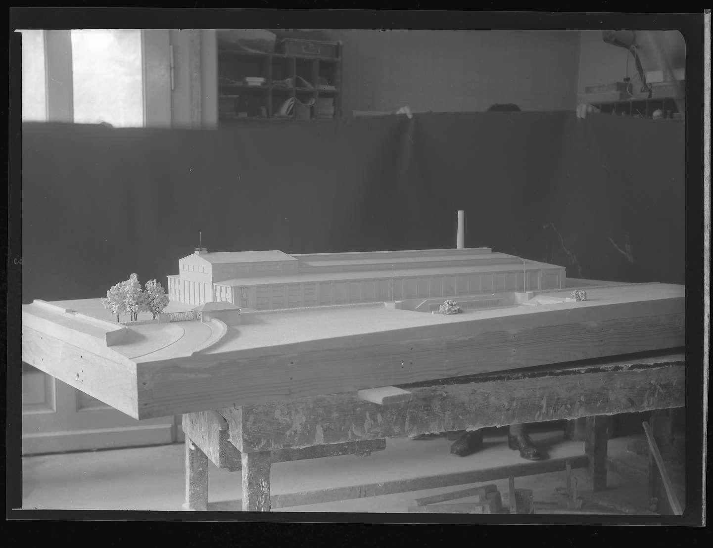 Kornwestheim, Zentralschmiede, Architekturmodell 1, Abb. b