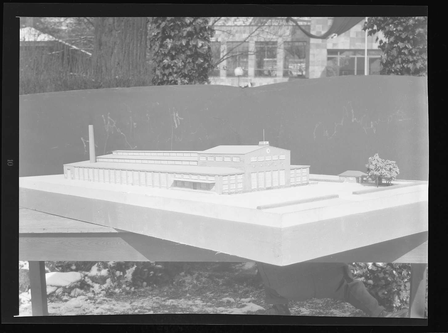 Kornwestheim, Zentralschmiede, Architekturmodell 3, Abb. a