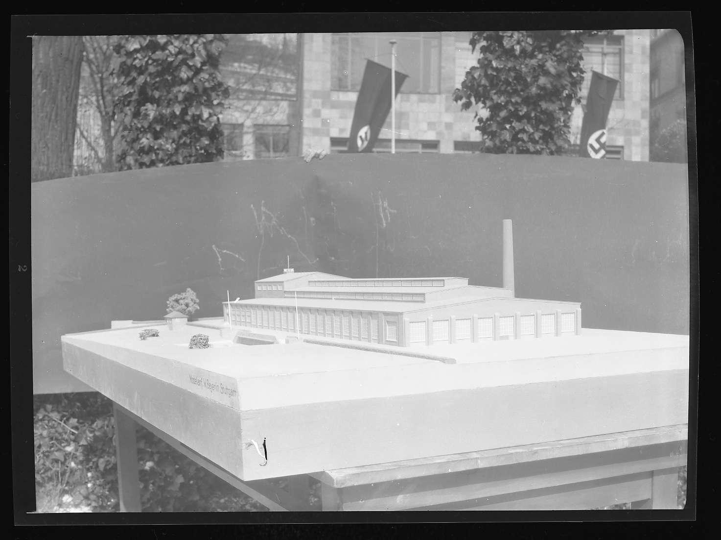 Kornwestheim, Zentralschmiede, Architekturmodell 3, Abb. b