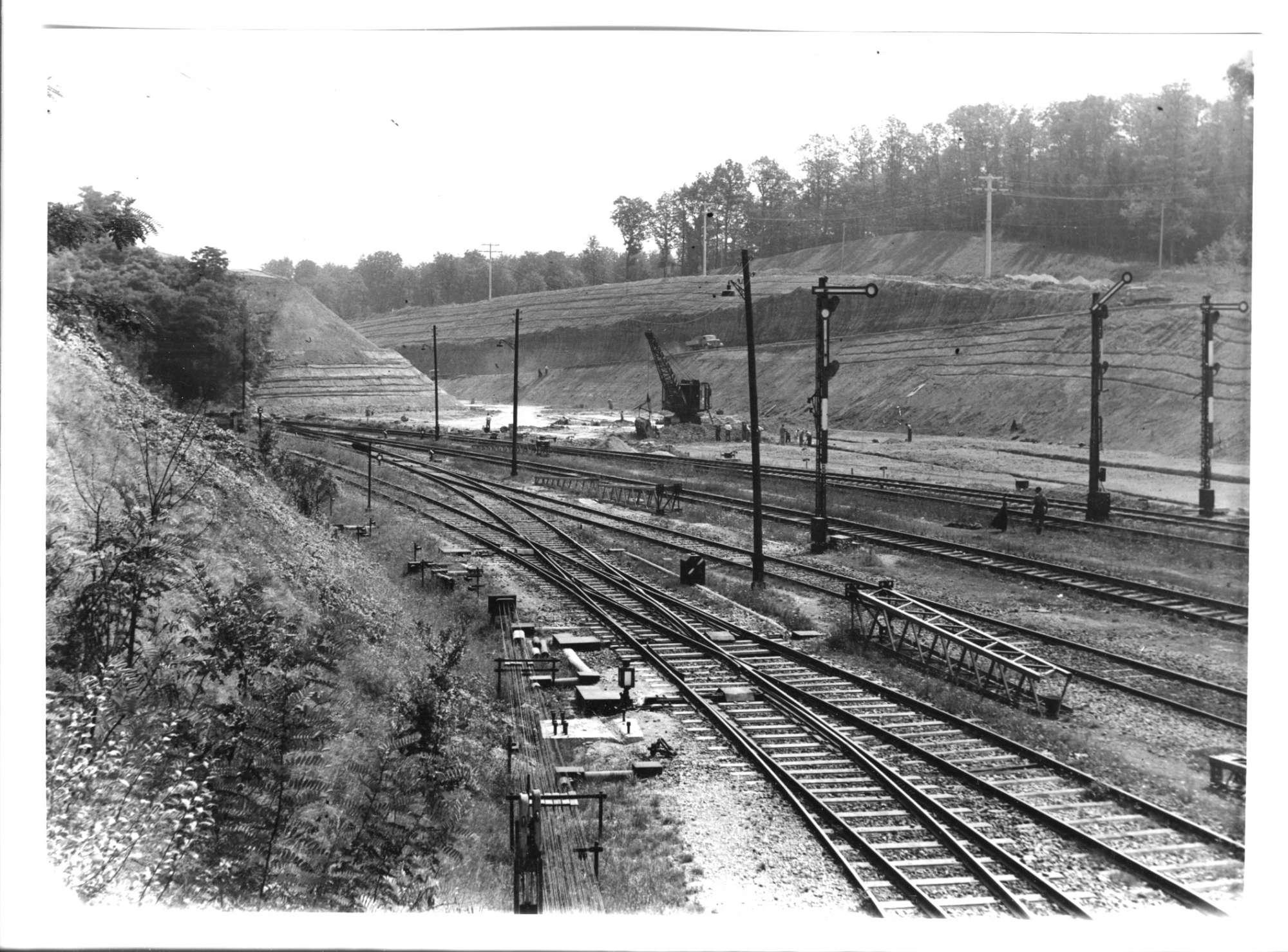 Mühlacker, Bahnbau, Abb. b