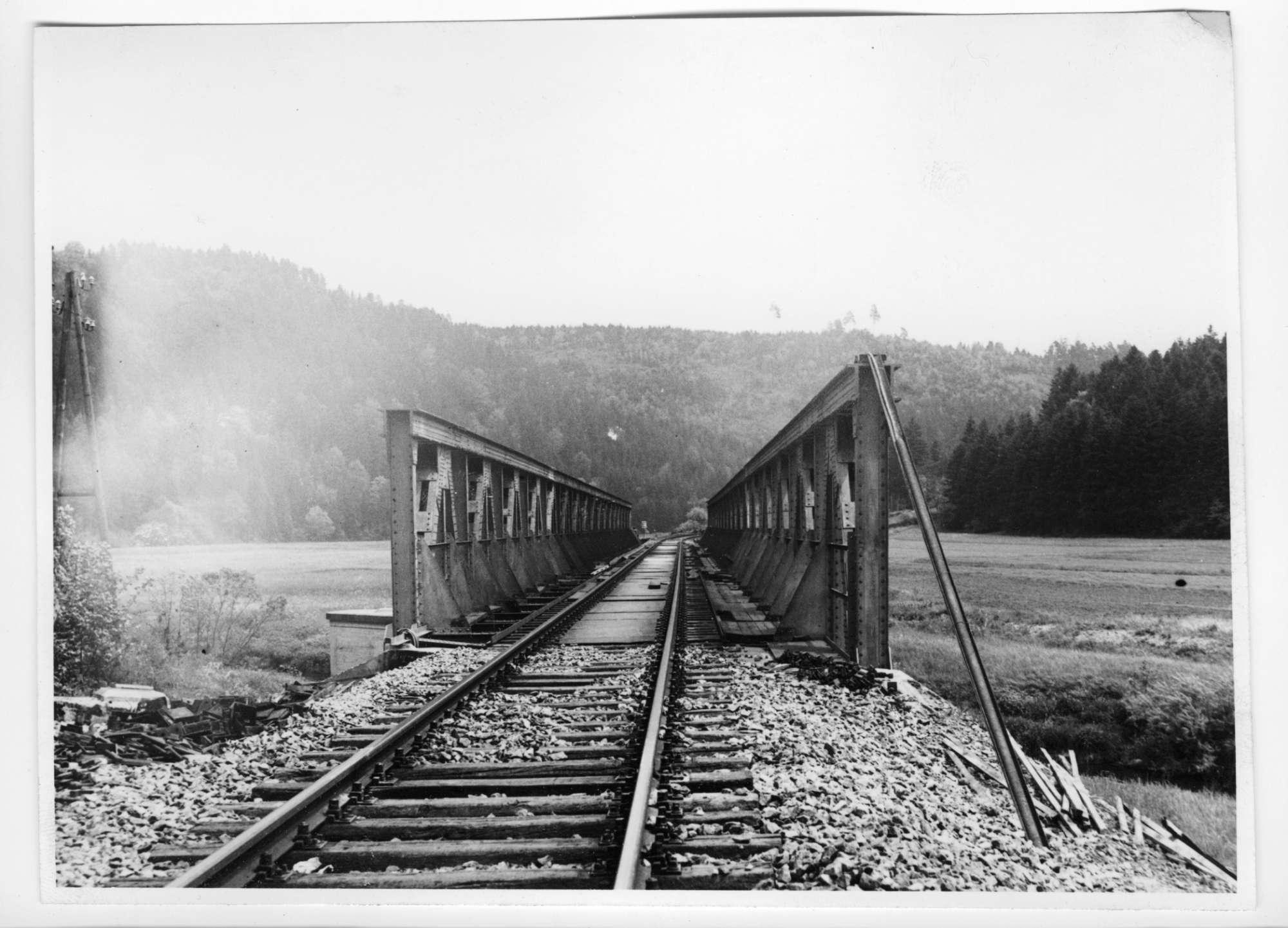 Strecke Neckarhausen-Horb (Neckarbrücke), Abb. a
