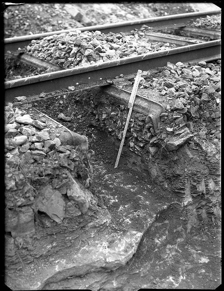 Nehren, Haltepunkt, Strecke Tübingen-Sigmaringen, Oberbau- Erneuerung, Bild 1