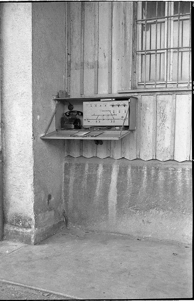 Rechberghausen, Bf, DR- Stellwerk, Bild 1