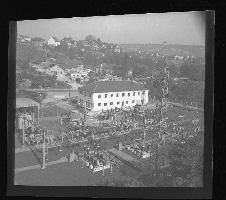 Stuttgart-Münster, Bf, Unterwerk nach Fertigstellung (Aussenaufnahme), Bild 1