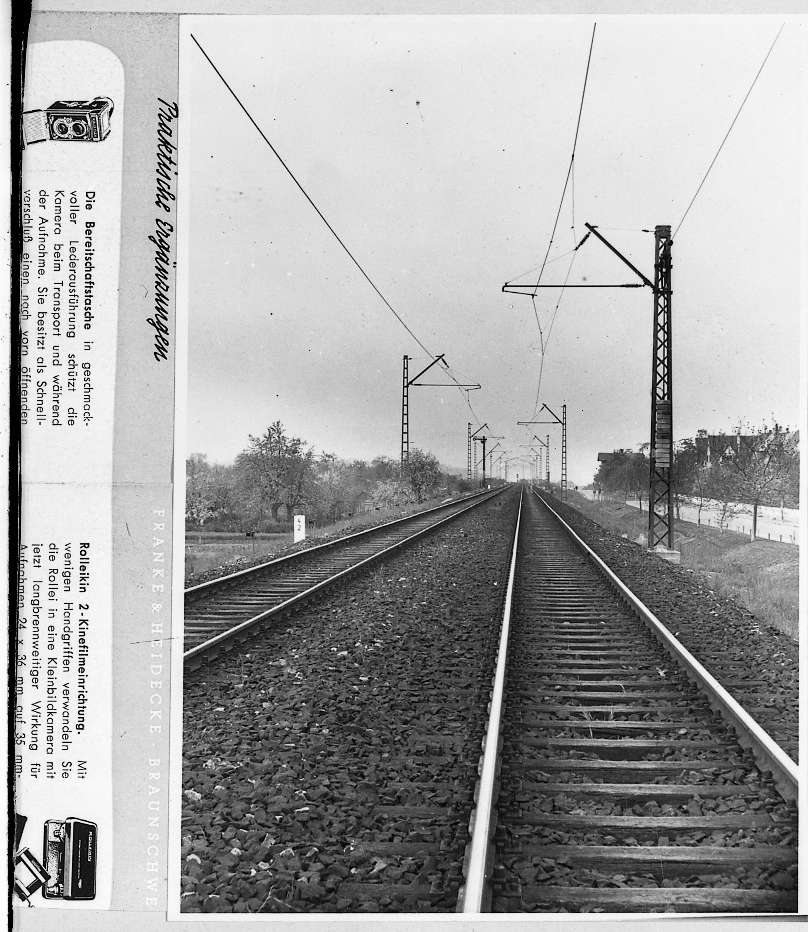 Stuttgart-Sommerrain, Fahrleitung, Bild 1