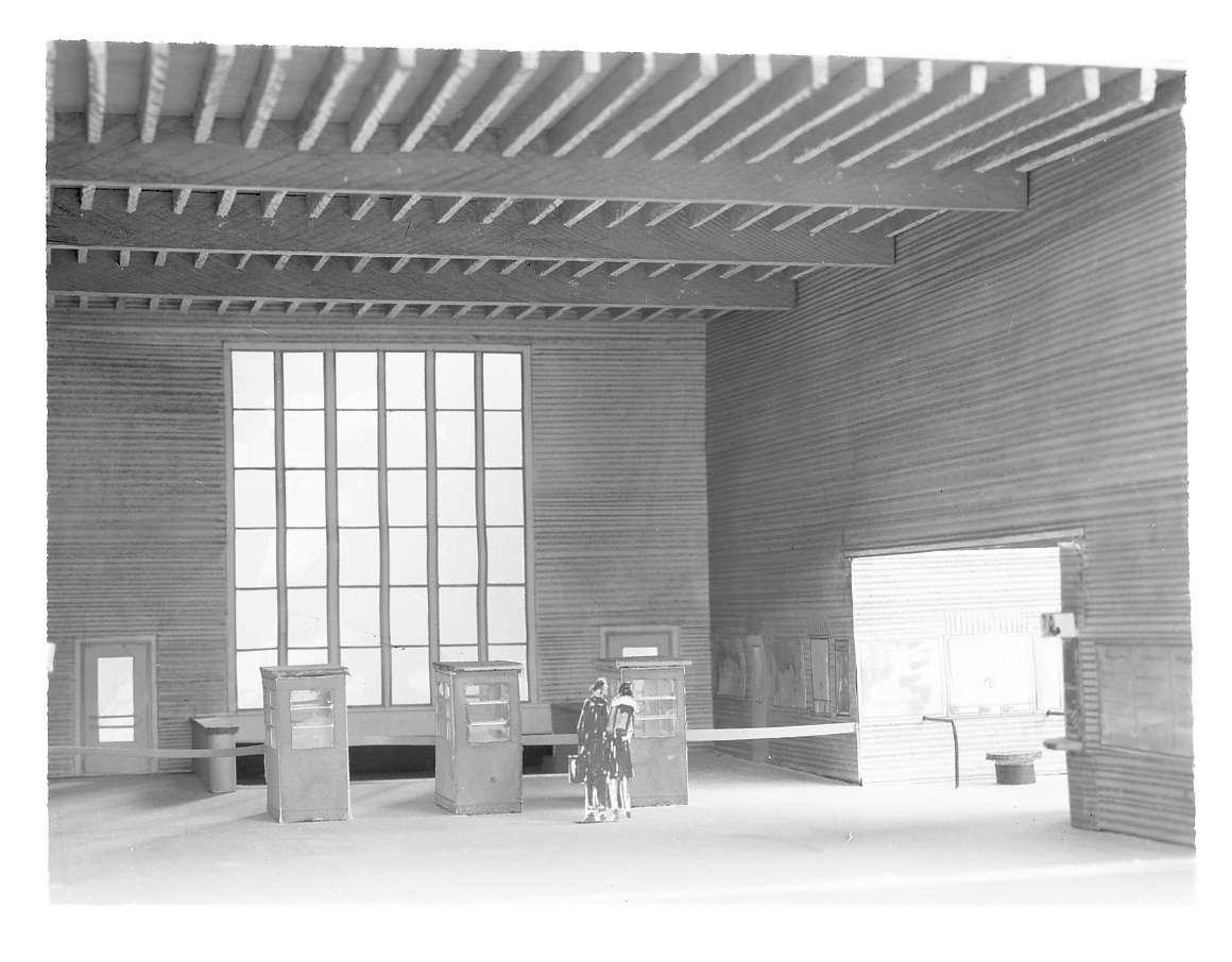 Tuttlingen, Hbf, Innenräume (Architekturmodell), Abb. b
