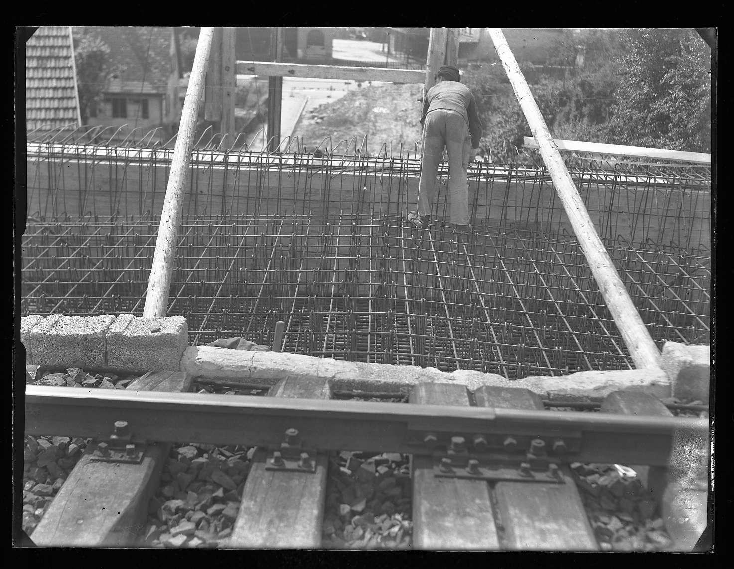 Wasseralfingen, Baustelle Brücke, Abb. b