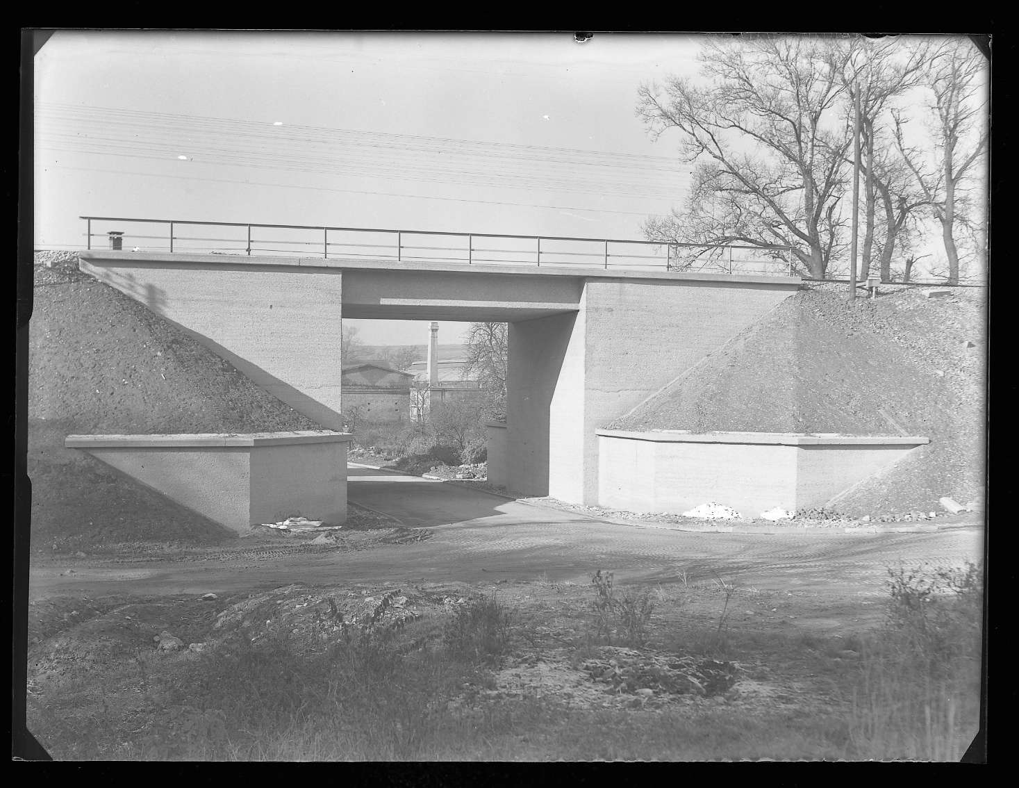 Wasseralfingen, Bf, neue Brücke (fertiger Zustand), Abb. b
