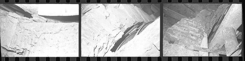 Weinsberg, Weinsberger Tunnel, Aufnahmen im Tunnel bzw. -gewölbe, Abb. a