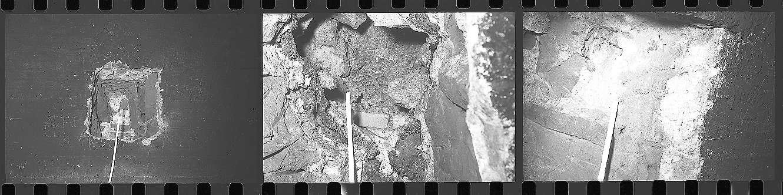 Weinsberg, Weinsberger Tunnel, Aufnahmen im Tunnel bzw. -gewölbe, Abb. b