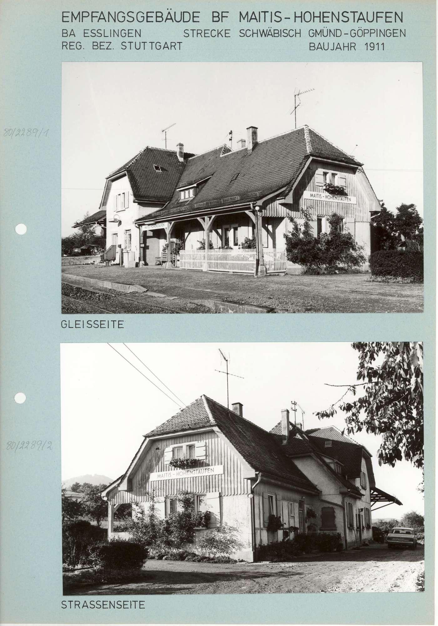 Maitishof-Hohenstaufen: 4 Fotos, Bild 1