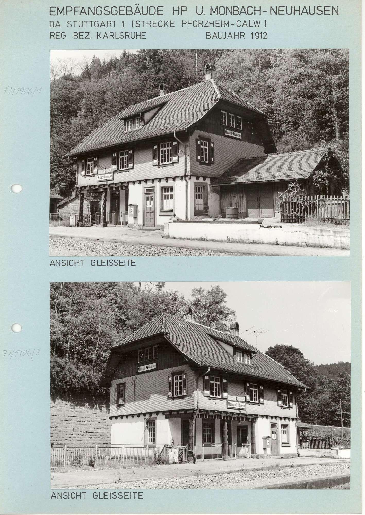 Monbach-Neuhausen: 2 Fotos, Bild 1