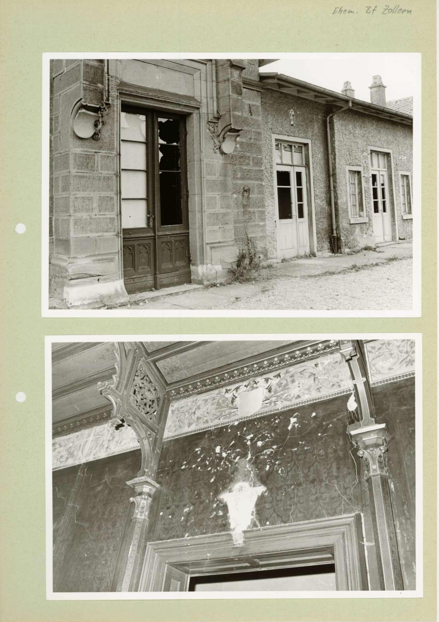 Zollern (ehemaliger Bf): 12 Fotos, Bild 3