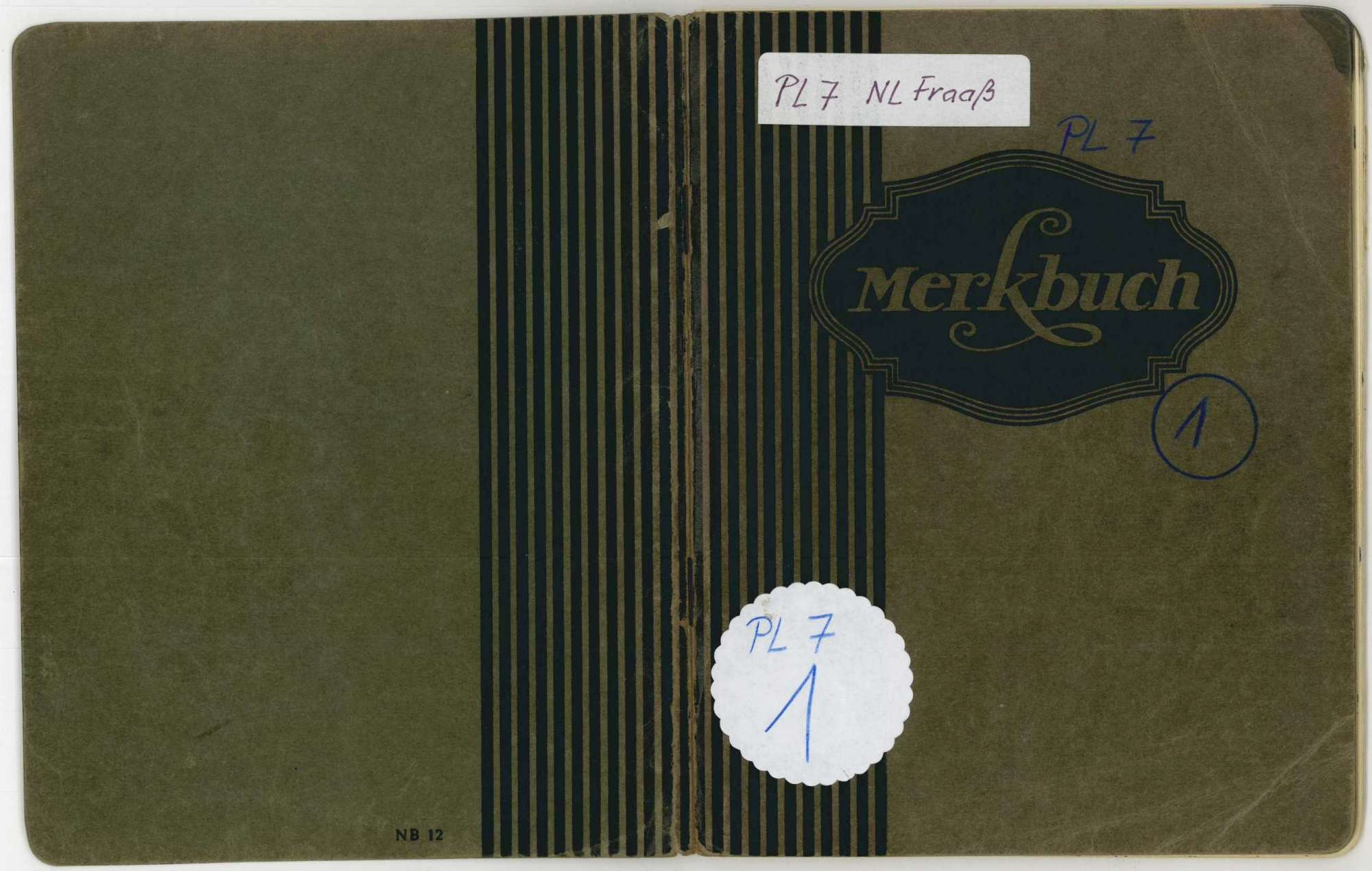 Tagebuch I, Bild 1