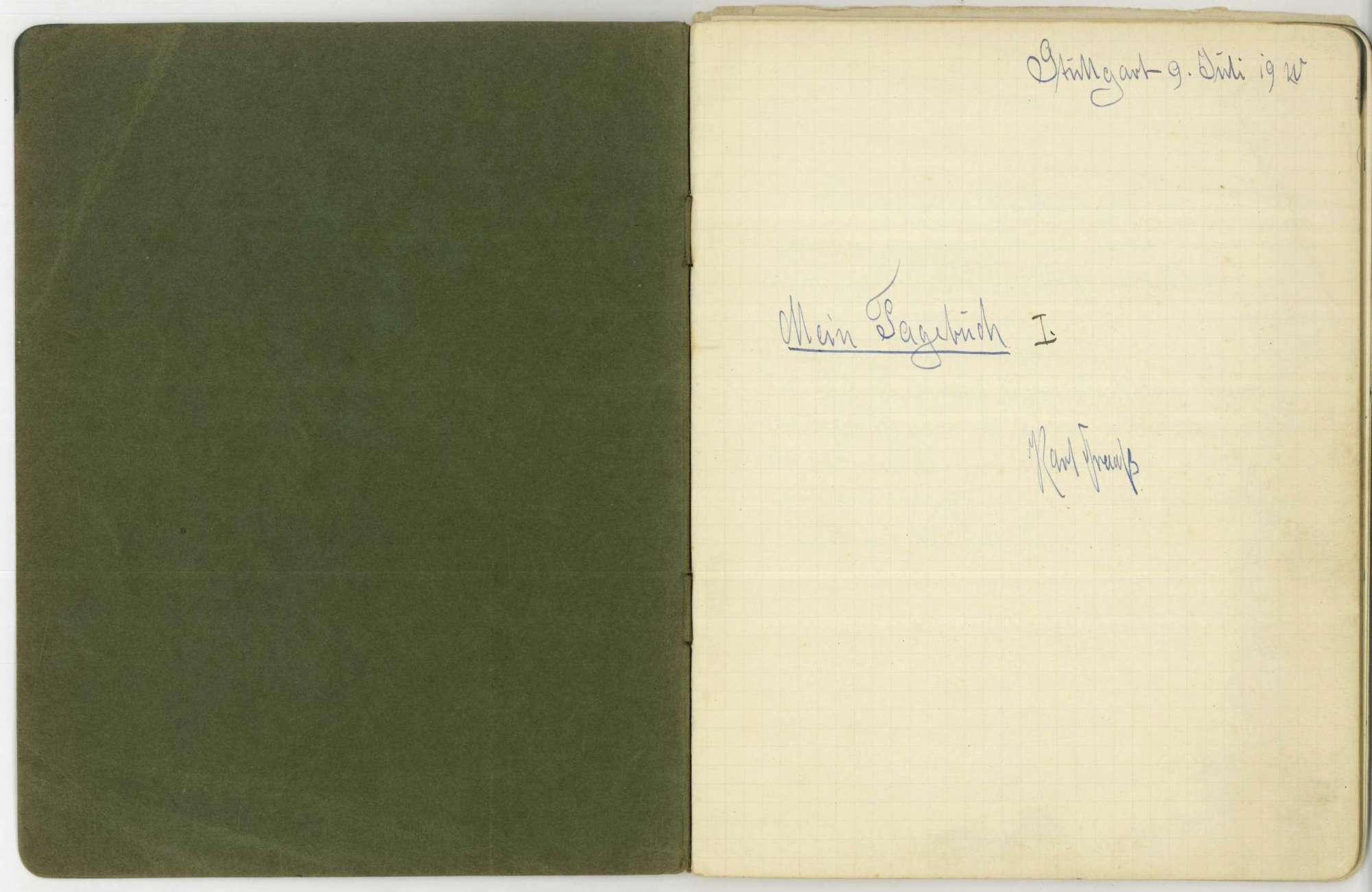 Tagebuch I, Bild 2