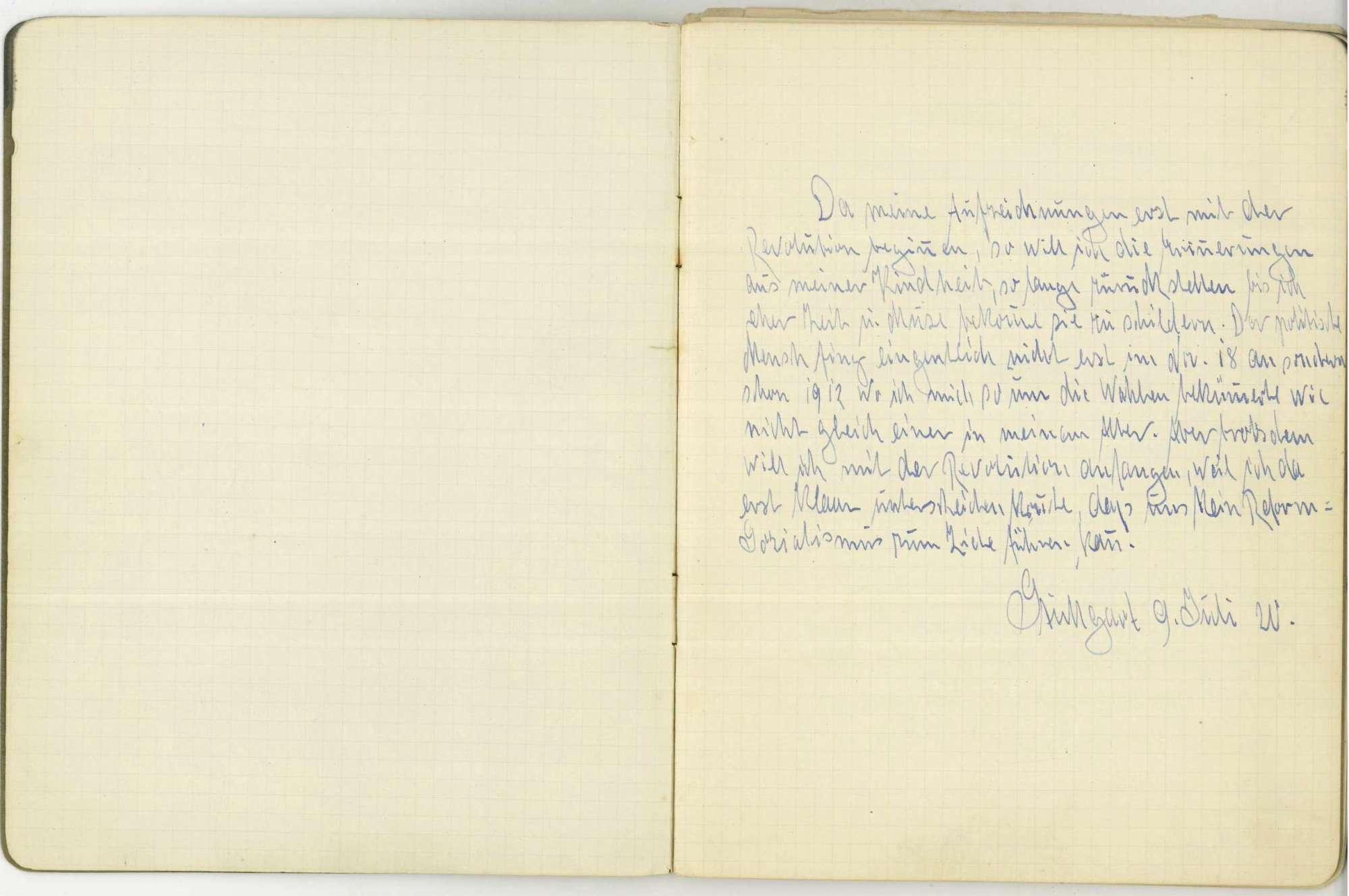 Tagebuch I, Bild 3