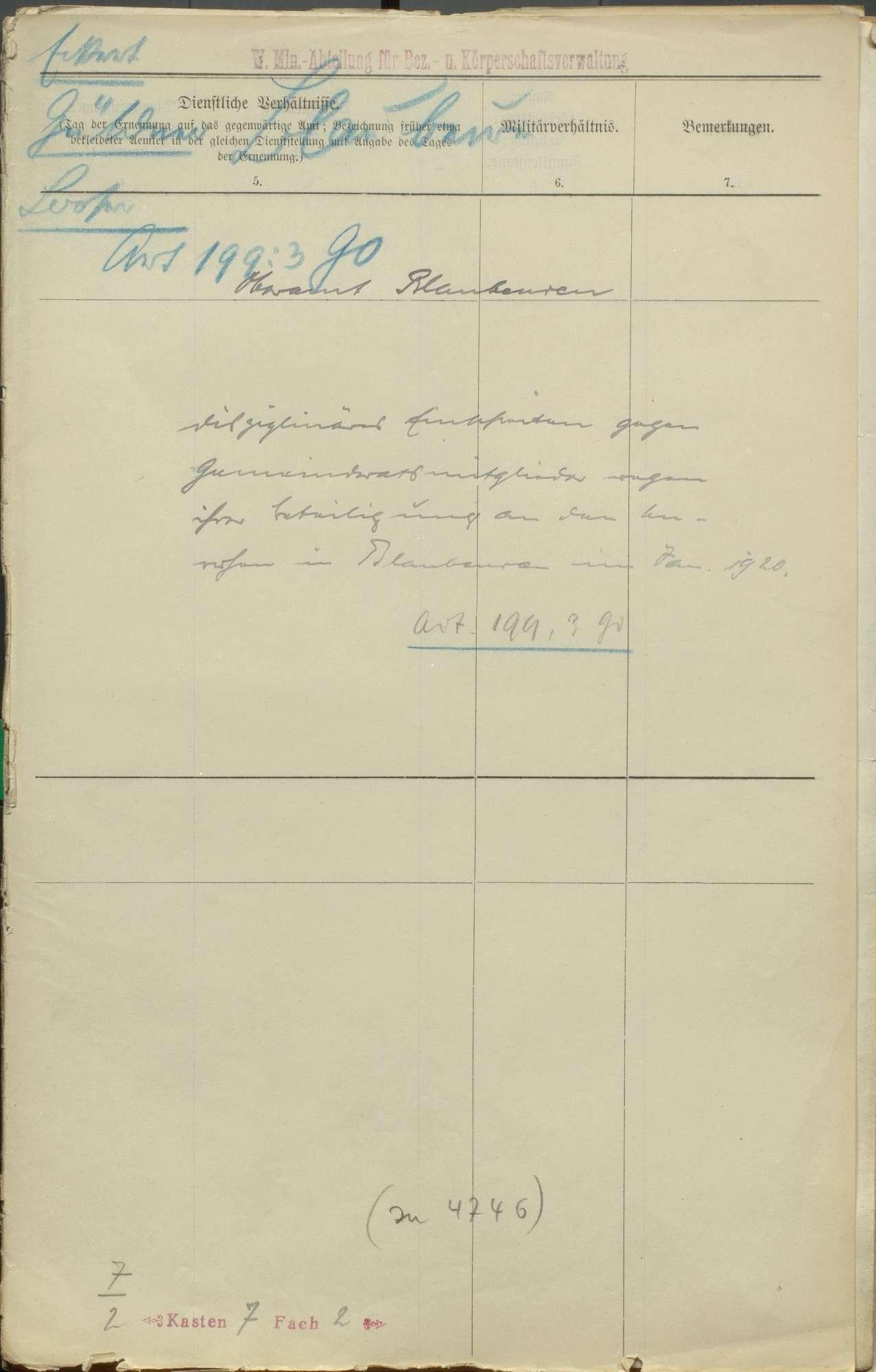 Gemeinderäte und sonstige Diener im Oberamt Blaubeuren, Bild 2
