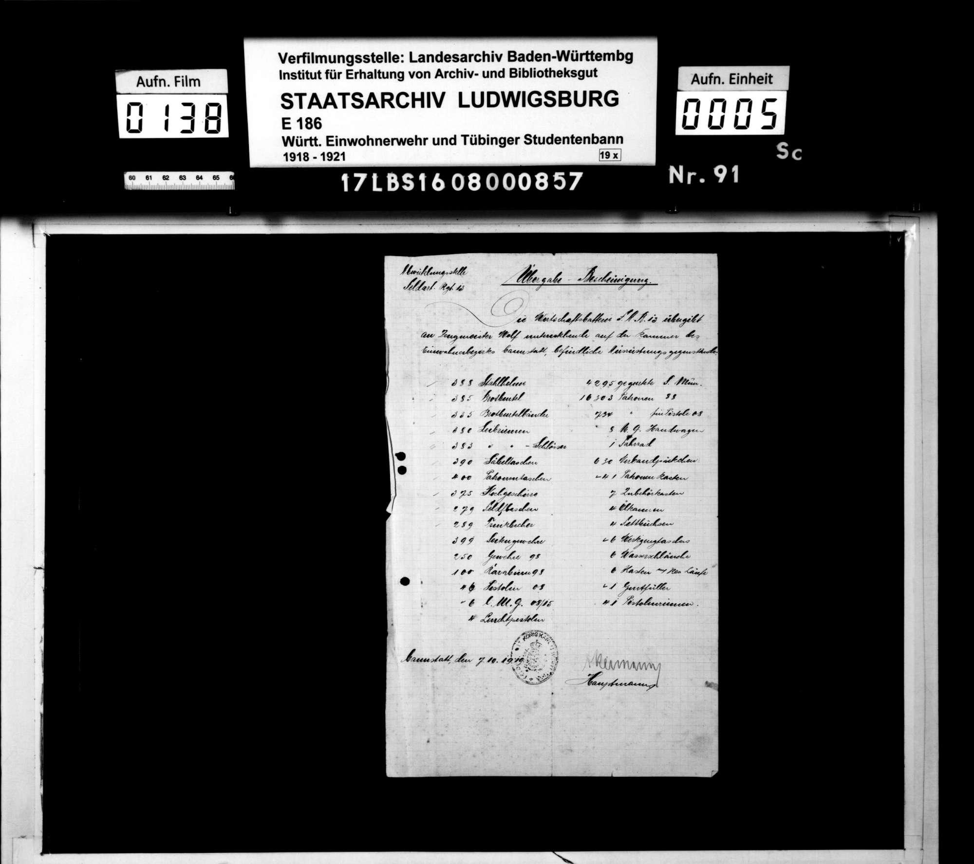 Bann Cannstatt: Belege für das Kammerbuch, Bild 2