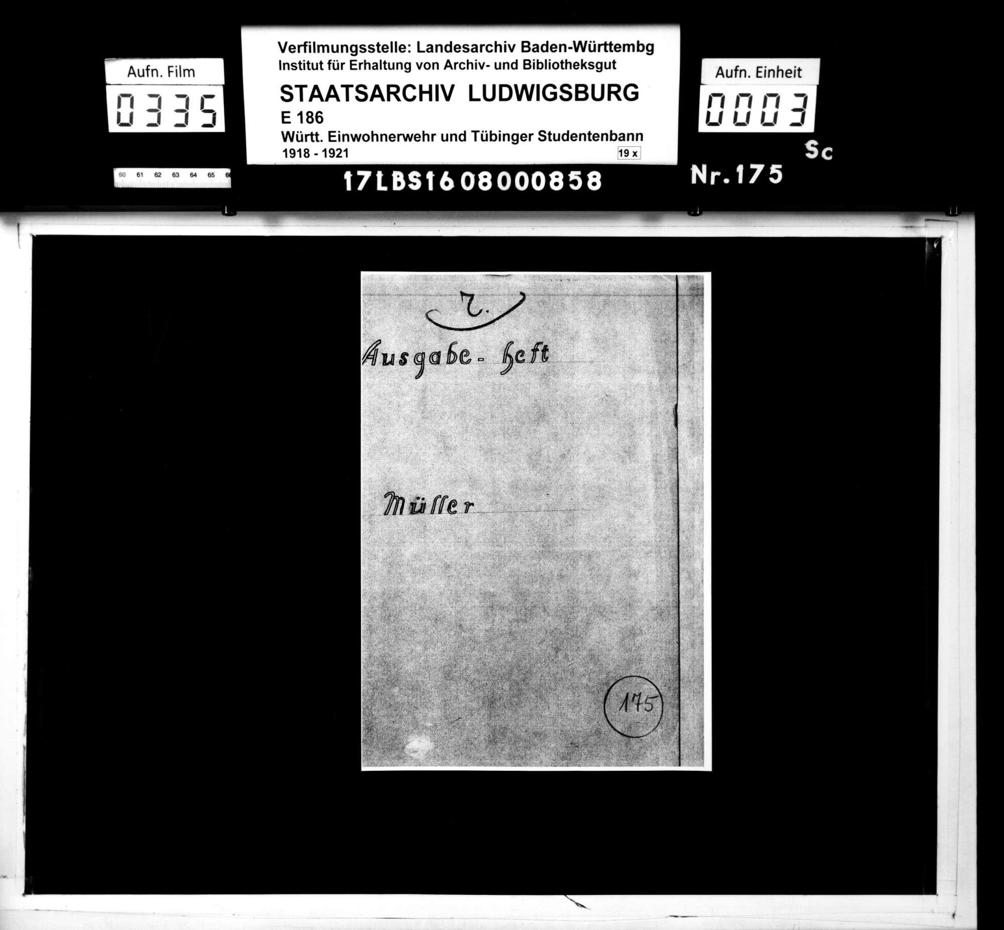 Bann 6/Schar 5 (Müller): Ausgabe-Heft, Bild 1