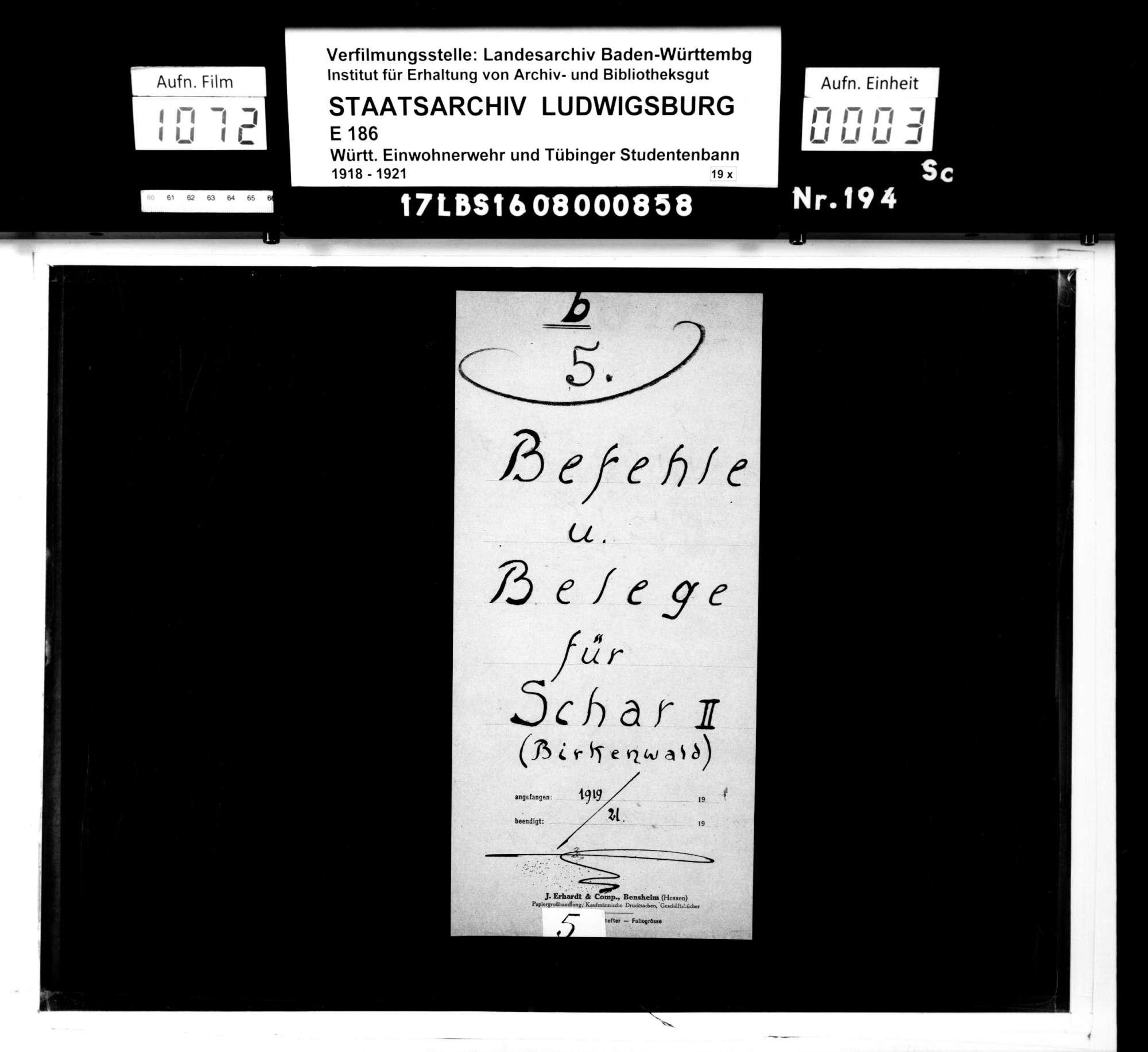 Bann 7/Schar 2 (Birkenwald): Befehle und Belege, Bild 1