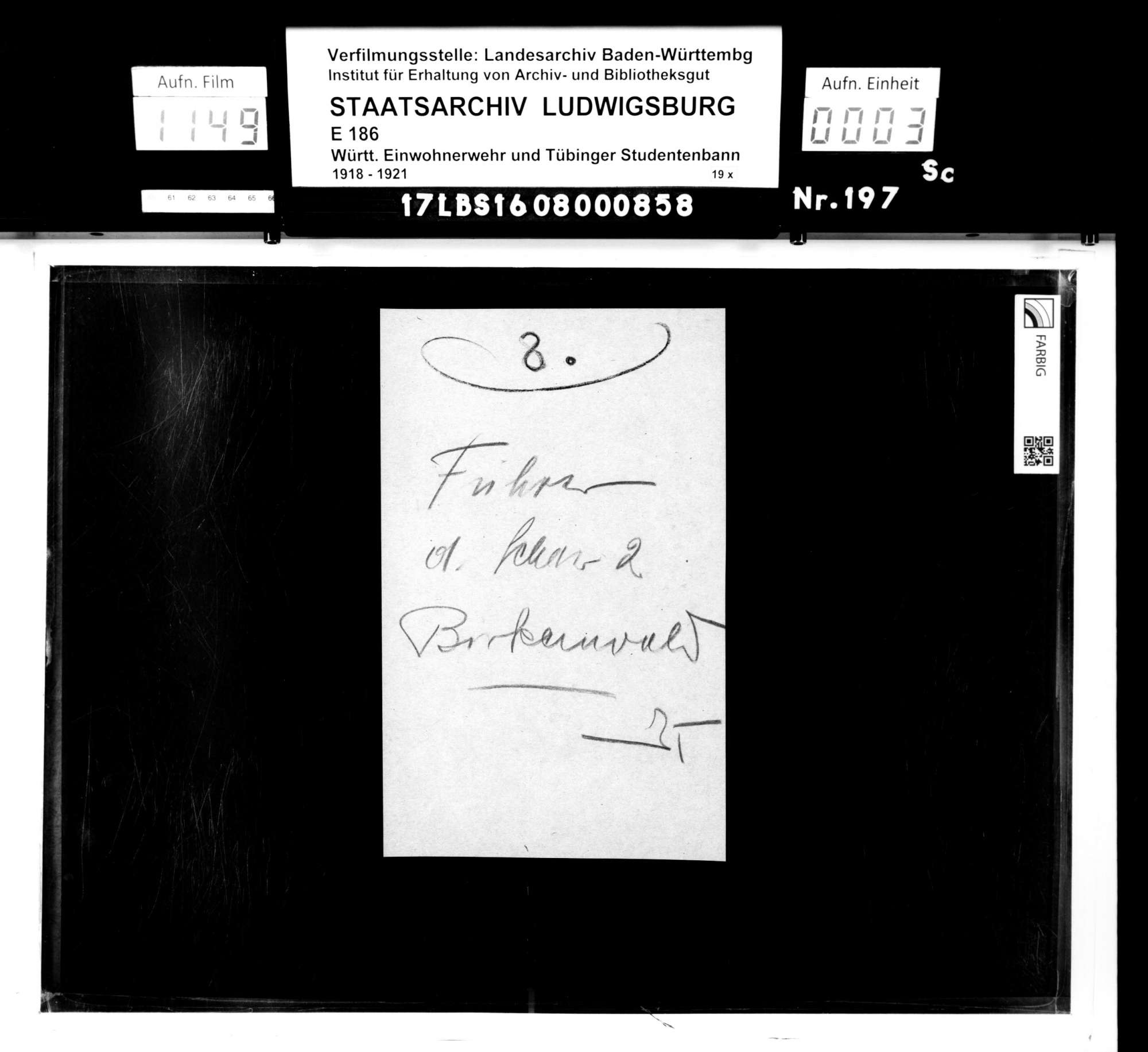 Bann 7/Schar 2 (Birkenwald) (Hauptmann Huber): Namensliste, Bild 1