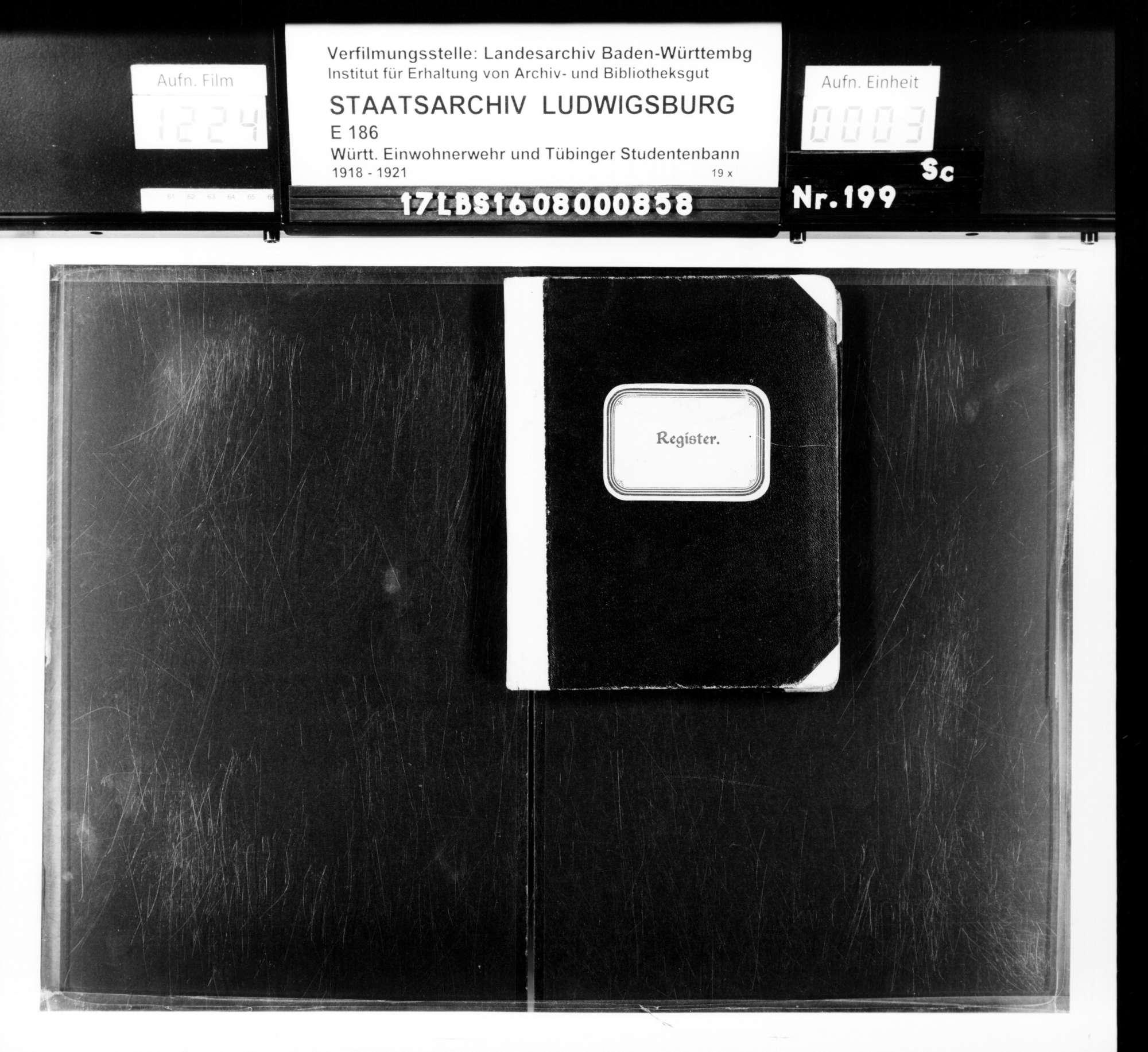 Alphabetisches Register für das 2. Aufgebot, Bild 1