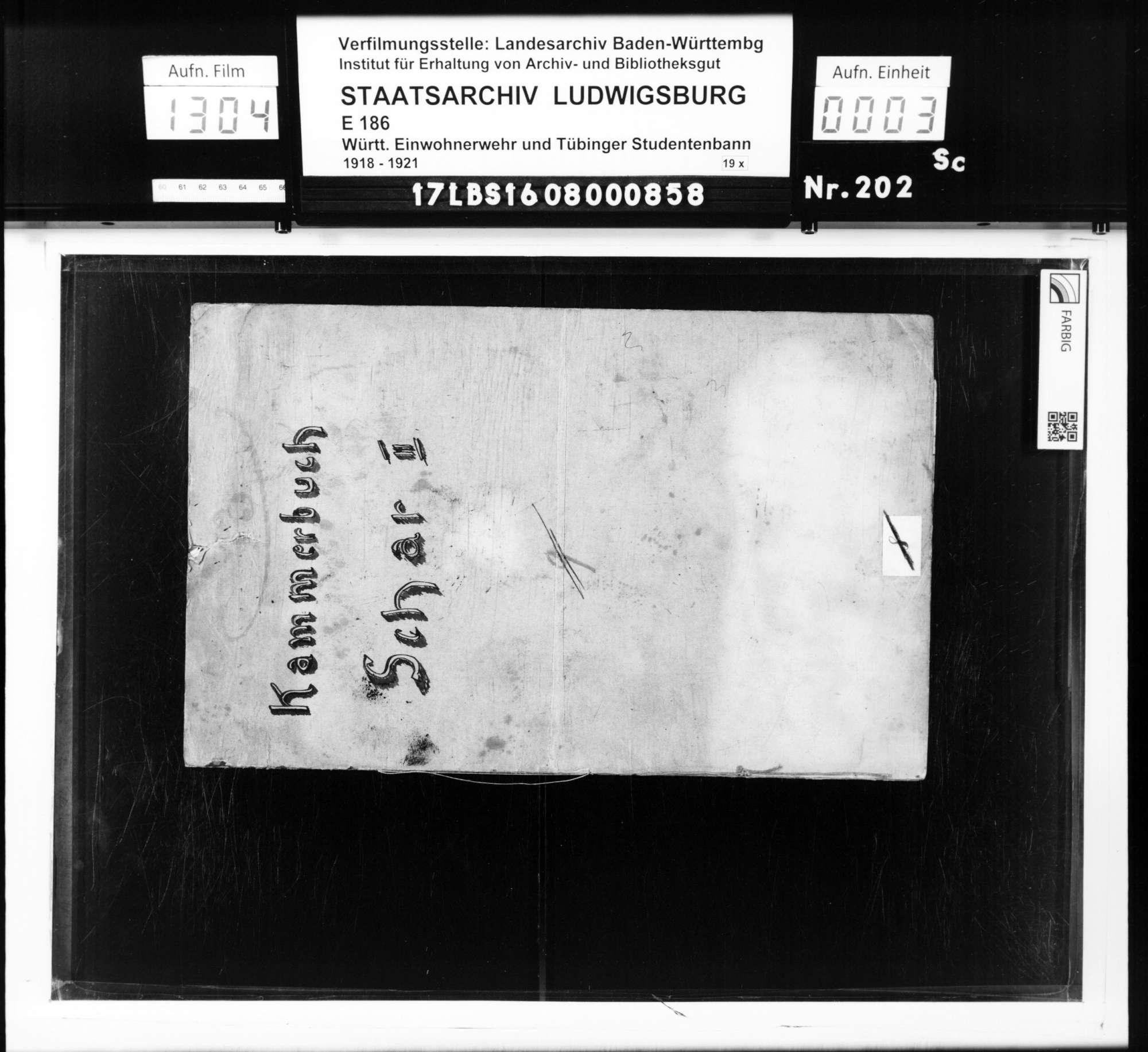 Bann 7/Schar 2 (Birkenwald): Kammerbuch, Bild 1